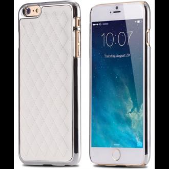 coque-iphone-6-grid-white-silver-accueil-coque-pour-iphone-6-en-edition-limite-en-similicuir-contour-argent-coussin-blanc-yxf044
